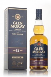 Glen Moray 15 Year Old - Elgin Heritage Single Malt Whisky