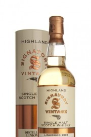 Linkwood 18 Year Old 1991 (Signatory) Single Malt Whisky