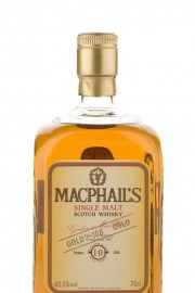 MacPhail's 10 Year Old Gold Single Malt Whisky