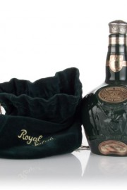 Royal Salute 21 Year Old Emerald Flagon - 1970s Blended Whisky