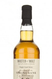 Springbank 19 Year Old Cask 129 - Single Cask (Master of Malt) Single Malt Whisky