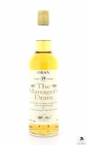 Oban 19 years old 59.8% Manager's Dram