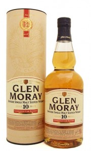 Glen Moray 10 Year Old Chardonnay Cask Single Speyside Malt Whisky