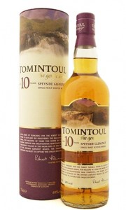 Tomintoul 10 Year Old Single Speyside Malt Whisky