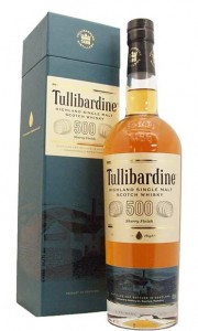 Tullibardine 500 Sherry Cask Finish Single Highland Malt Whisky