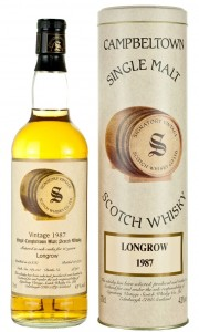 Longrow (Springbank) 10 Year Old 1987 Signatory