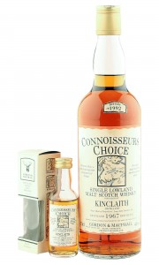 Kinclaith 1967, Gordon & MacPhail Connoisseurs Choice with Miniature