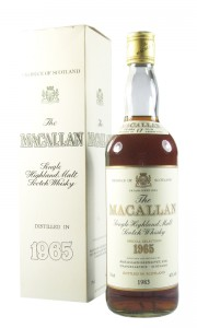 Macallan 1965 17 Year Old, Rare UK Bottling with Box