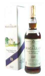 Macallan 1967 18 Year Old, Italian Import