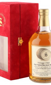 Macallan 1968 26 Year Old, Signatory Vintage 1995 Bottling, Cask #10543