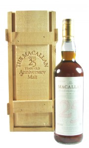 Macallan 1972 25 Year Old Anniversary Malt, UK Edition, Wooden Box