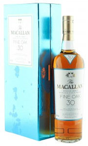 Macallan 30 Year Old Fine Oak with Presentation Case