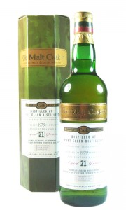 Port Ellen 1979 21 Year Old, The Old Malt Cask Bottling with Box