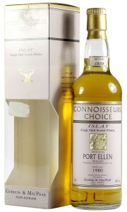Port Ellen 1980, Gordon & MacPhail Connoisseurs Choice