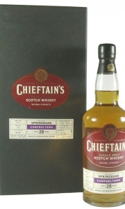 Springbank 1974 28 Year Old, Chieftain's Choice 2003 Bottling with Box