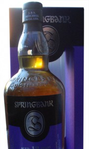 Springbank 18 Year Old 2016 Release Single Malt Whisy
